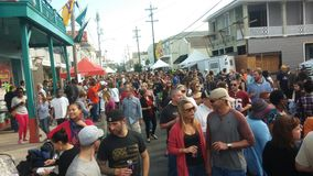 New Orleans. Po-boy food festival Royalty Free Stock Images