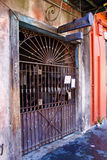 New Orleans Preservation Hall Music Venue. The entrance of world famous Preservation Hall, a local landmark dedicated to ensuring jazz stays a relevant part of stock images