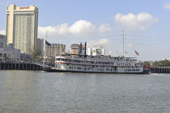 New Orleans river boat Royalty Free Stock Images