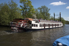 New Orleans Riverboat. Henley-on-Thames Stock Photos