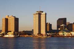 New Orleans Riverside Morning Light Stock Image