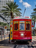 New Orleans RTA Street Car Stock Photography
