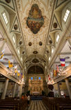 New Orleans Saint Louis Cathedral Interior Main Naive Royalty Free Stock Photos