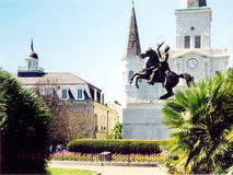 New Orleans Saint Louis Cathedral March 2002 Stock Photos