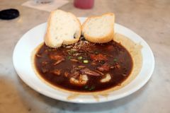 New Orleans Seafood Gumbo Classic. Of the death city royalty free stock images