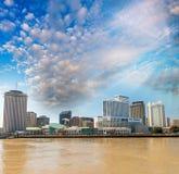 New Orleans skyline, Lousiana - USA Royalty Free Stock Photography