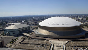 New Orleans Sports and Entertainment Complex Royalty Free Stock Photo