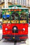 New Orleans spårvagn Royaltyfria Foton