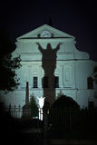 New Orleans - St. Louis Cathedral garden stock photos