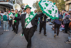 New Orleans St. Patrick`s Day Parade Royalty Free Stock Photos