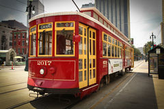 New Orleans - Street Car Royalty Free Stock Image