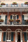New Orleans - Street Scene. Image of street scene in the French Quarter in New Orleans stock images