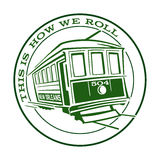 New Orleans Streetcar Icon Logo Symbol Royalty Free Stock Photos