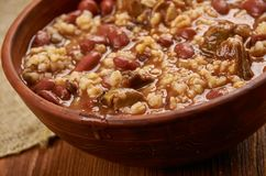 New Orleans-Style Red Beans. And Rice Royalty Free Stock Image