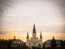 New Orleans Sunset Royalty Free Stock Images