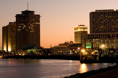 New Orleans waterfront royalty free stock image