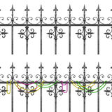 New Orleans Wrought Iron Balcony Stock Image