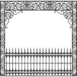 New Orleans wrought iron balcony Stock Photo