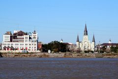 New- OrleansSkyline lizenzfreies stockfoto