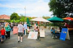 New- Orleansstraßen-psychische Leser stockfotografie