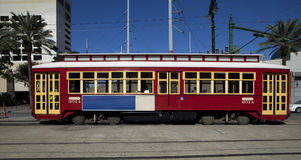New Orlenas Cable Car royalty free stock image