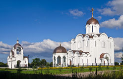 New orthodox church in Tallinn, Estonia Stock Images