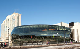 The New Ottawa Convention Centre Stock Photography