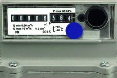 New Outdoor Gas Meter Stock Photos