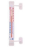 New outdoor thermometer Clipping path Stock Photos