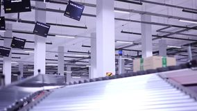 New Ozon company Conveyors with parcel on it. stock footage