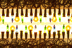 New pack of Christmas lights Stock Images