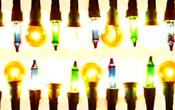 New pack of Christmas lights Stock Photo