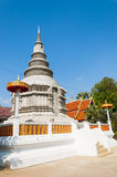 The new pagoda structure in thailand Stock Photos