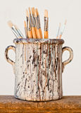 New paintbrushes Royalty Free Stock Photos