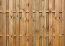 New painted wooden fence Stock Photography