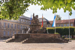 New Palace Bayreuth Royalty Free Stock Photo