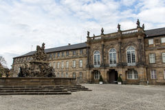 New Palace in Bayreuth, Germany, 2015 Royalty Free Stock Photography