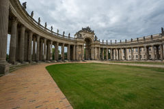 New Palace communs colonnade Potsdam Royalty Free Stock Photo