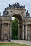 New Palace communs colonnade Potsdam Stock Image