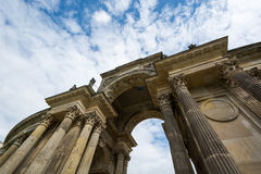New Palace communs colonnade Potsdam Royalty Free Stock Photography