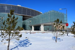 New Palace for Creative Schoolchildren in Astana Royalty Free Stock Image