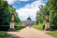 New Palace (German: Neues Palais) in Postdam Stock Photography