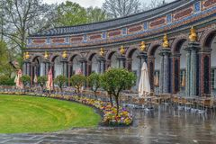 New Palace in Hermitage, Bayreuth, Germany Stock Photography