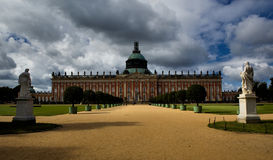 New Palace (Neues Palais) in Park Sanssouci in Potsdam Royalty Free Stock Image