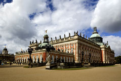 New Palace (Neues Palais) in Park Sanssouci in Potsdam Royalty Free Stock Images