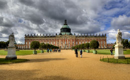 New Palace (Neues Palais) in Park Sanssouci in Potsdam Stock Photography