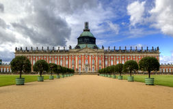 New Palace (Neues Palais) in Park Sanssouci in Potsdam Stock Photo