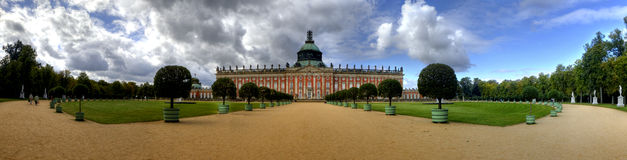 New Palace (Neues Palais) in Potsdam Stock Photos