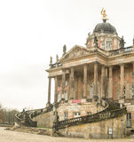 The New Palace. A park around the Sanssouci Palace in Potsdam Germany is full of villas, palaces and other royal buildings. It is a perfect place for a trip Stock Image