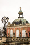 The New Palace. A park around the Sanssouci Palace in Potsdam Germany is full of villas, palaces and other royal buildings. It is a perfect place for a trip Stock Photography